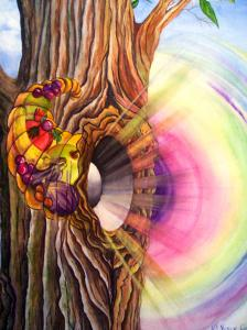 spiritual meaning of RAINBOW and TRANSPARENT colors by Carol Nemitz