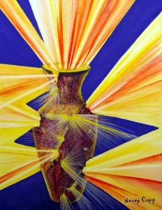 Spiritual meaning of Yellow by Carol Nemitz