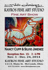Kayros Fine Art Studio Artists Reception